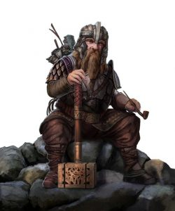 DUNGEONS & DRAGONS: Flint Lutgehr – Background and Family Story (WORKING)